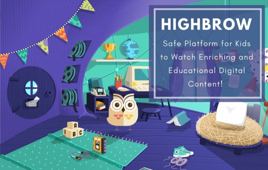 Highbrow: Safe Platform for Kids to Watch Enriching and Educational Digital Content!