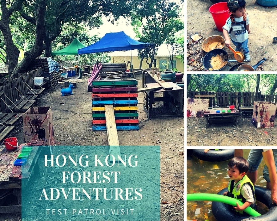 Hong Kong Forest Adventures: Test Patrol Visit