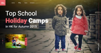Top School Holiday Camps in HK for Autumn 2019