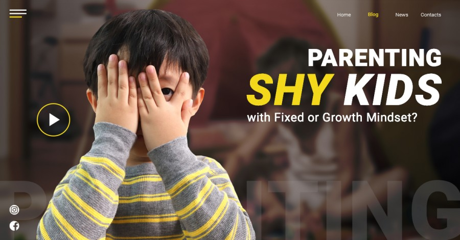 Parenting Shy Kids with Fixed or Growth Mindset?