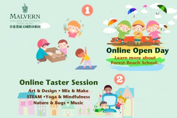 Reserve a Place at the Upcoming Virtual Open Day and Bilingual Taster Sessions at Malvern College Pre-School Hong Kong