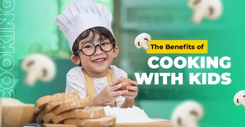 The Benefits of Cooking with Kids