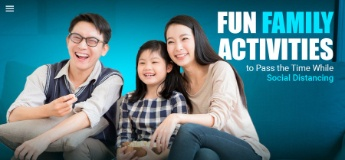 Fun Family Activities to Pass the Time While Social Distancing