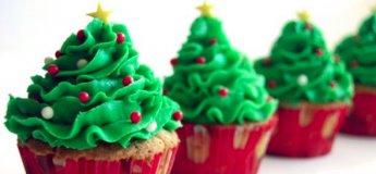Christmas Edition: Shrimp Toasts/ Christmas Tree Cupcakes