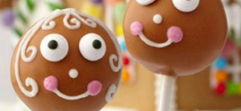 THE WILTON METHOD®: Gingerbread Boy & Friends Cake Pops (Parent- Child)