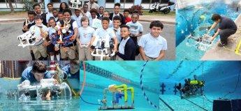 STEM ROVs Under Water Robotic Workshop with US MATE Certification