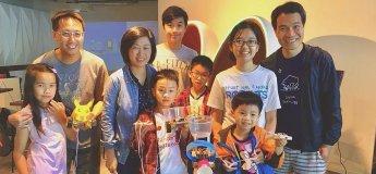Parents & Kids Robot Making Workshops (Feb- Apr, 2018)